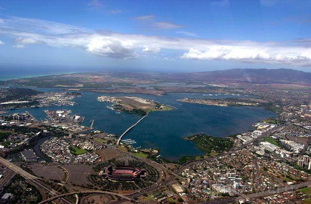 — — - Flyover, Pearl Harbor, HI
