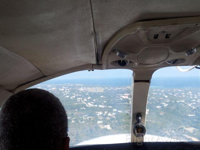 Cessna 402 — - On approach to TQPF