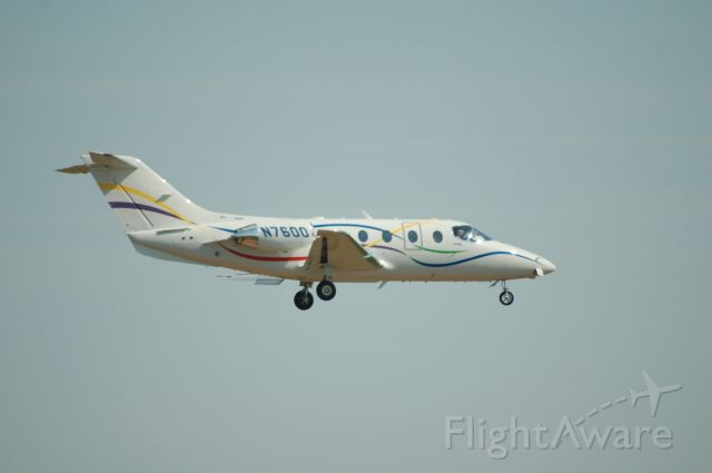 Beechcraft Beechjet (N7600)