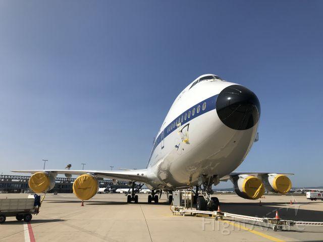 BOEING 747-8 (D-ABYT) - Sleep well my Queen!!!