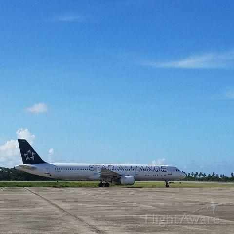 Airbus A321 — - Aeropuerto Int