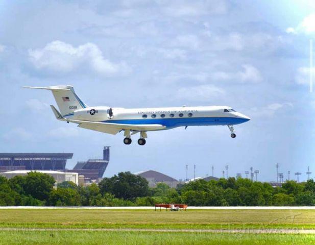 Gulfstream Aerospace Gulfstream V — - Gulfstream in front of Kyle Field in College Station, TX