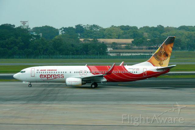 Boeing 737-800 (VT-AXG)