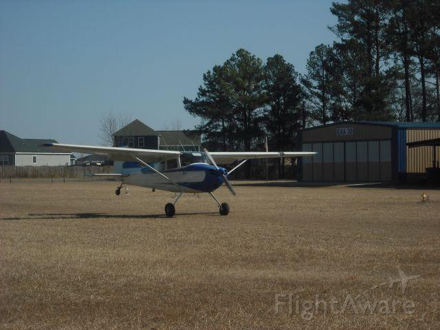 Cessna 170 (N2966D) - WHEEL LANDING 5A2
