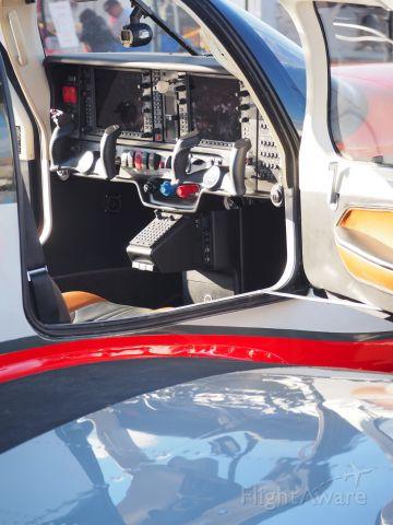 — — - Mooney Acclaim cockpit, picture taken at Reno Air Races pit 9/15/18.