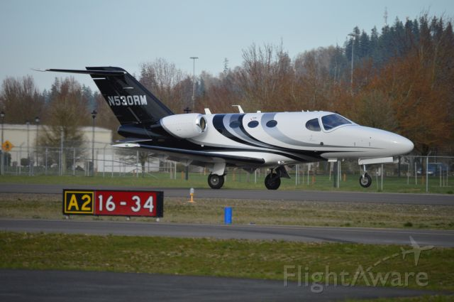 Cessna Citation Mustang (N530RM) - Rotating on 16 for Sunriver (S21).