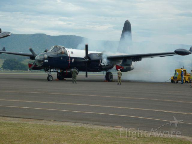 A89273 — - Lockheed P-2 Neptune Bomber Engine start up at HARS Aviation Museum.