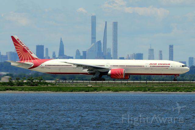 BOEING 777-300 (VT-ALM) - 'Air India 102' departing back to Delhi Indira Gandhi International Airport   (6/22)