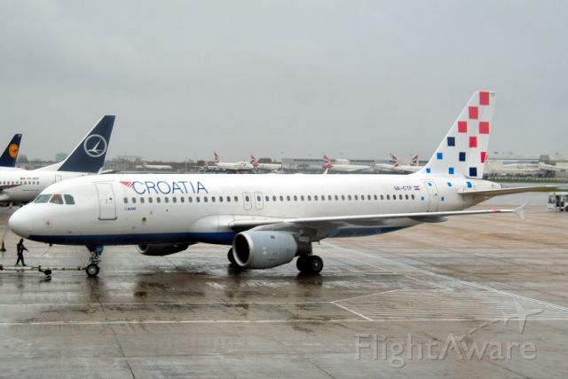 Airbus A320 (9A-CTF) - 2004 - In 1993 Sudan Airways F-OKAI in 2013 sold to parts