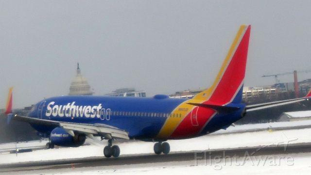 Boeing 737-800 (N8652) - 115pm landing on 1/15/2019 flight WN211