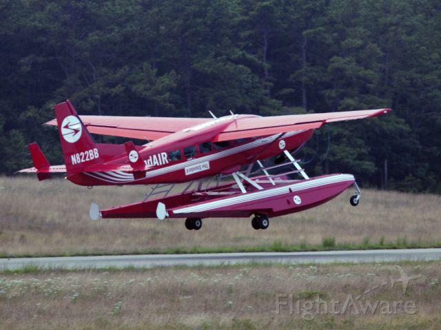 Cessna 206 Stationair (N822BB) - Take off runway 28.