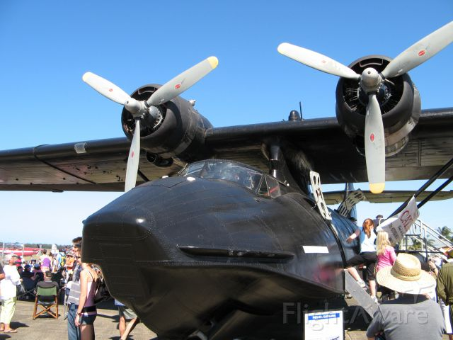 Canadair CL-1 Catalina (VH-PBZ) - The Black Cat in 2007 at Coffs Harbour Air Show.
