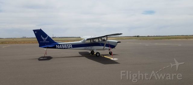 N4985R — - Ready for another flight!