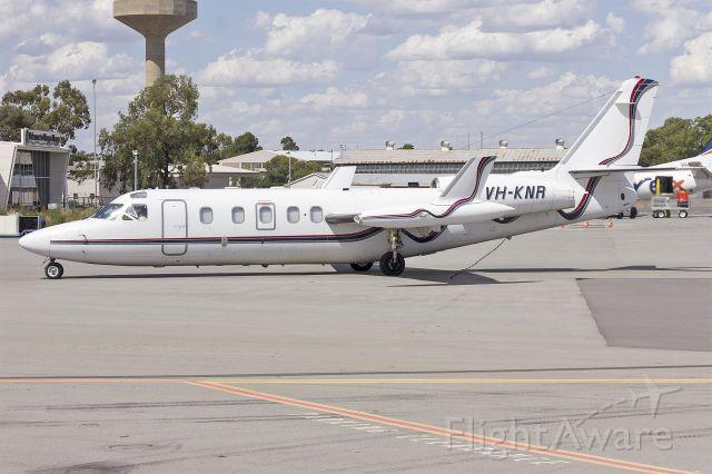 IAI 1124 Westwind (VH-KNR) - Pel-Air (VH-KNR) IAI 1124A Westwind II taxiing at Wagga Wagga Airport.
