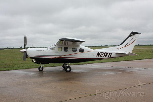 Cessna P210 (turbine) (N21KR) - 1979-2007 P210 Silver Eagle Turboprop