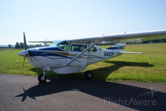 Cessna 206 Stationair (N481P)