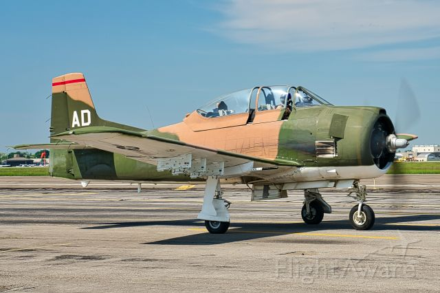 North American Trojan (N2496) - Ready to take flight. Part of the American Airpower Museum collection - Farmingdale, NY (KFRG)