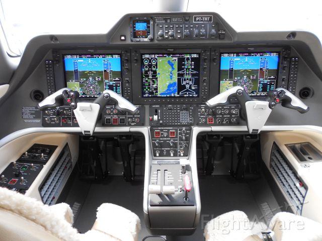 — — - Inside Embraer Phenom 300.