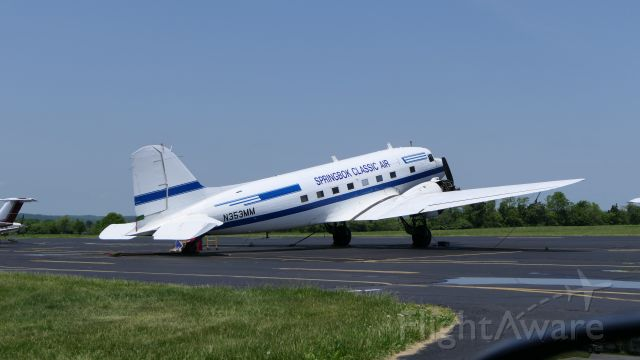 Douglas DC-3 (ZS-CAI) - ZS-CAI from S. Africa is now N353MM
