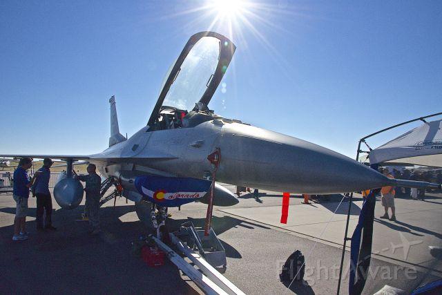 Lockheed F-16 Fighting Falcon — - AOPA Fly In