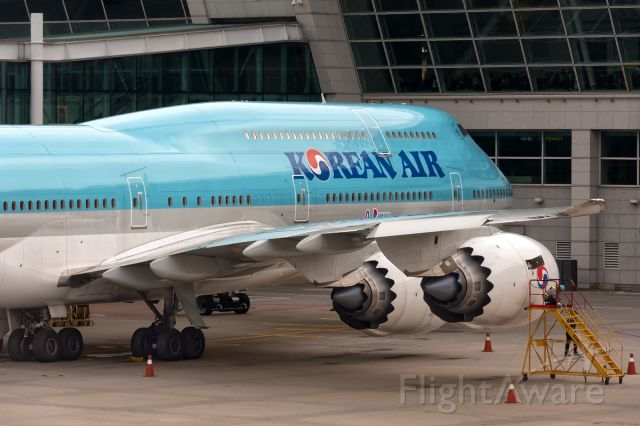 BOEING 747-8 (HL7631) - 25th Sept., 2016