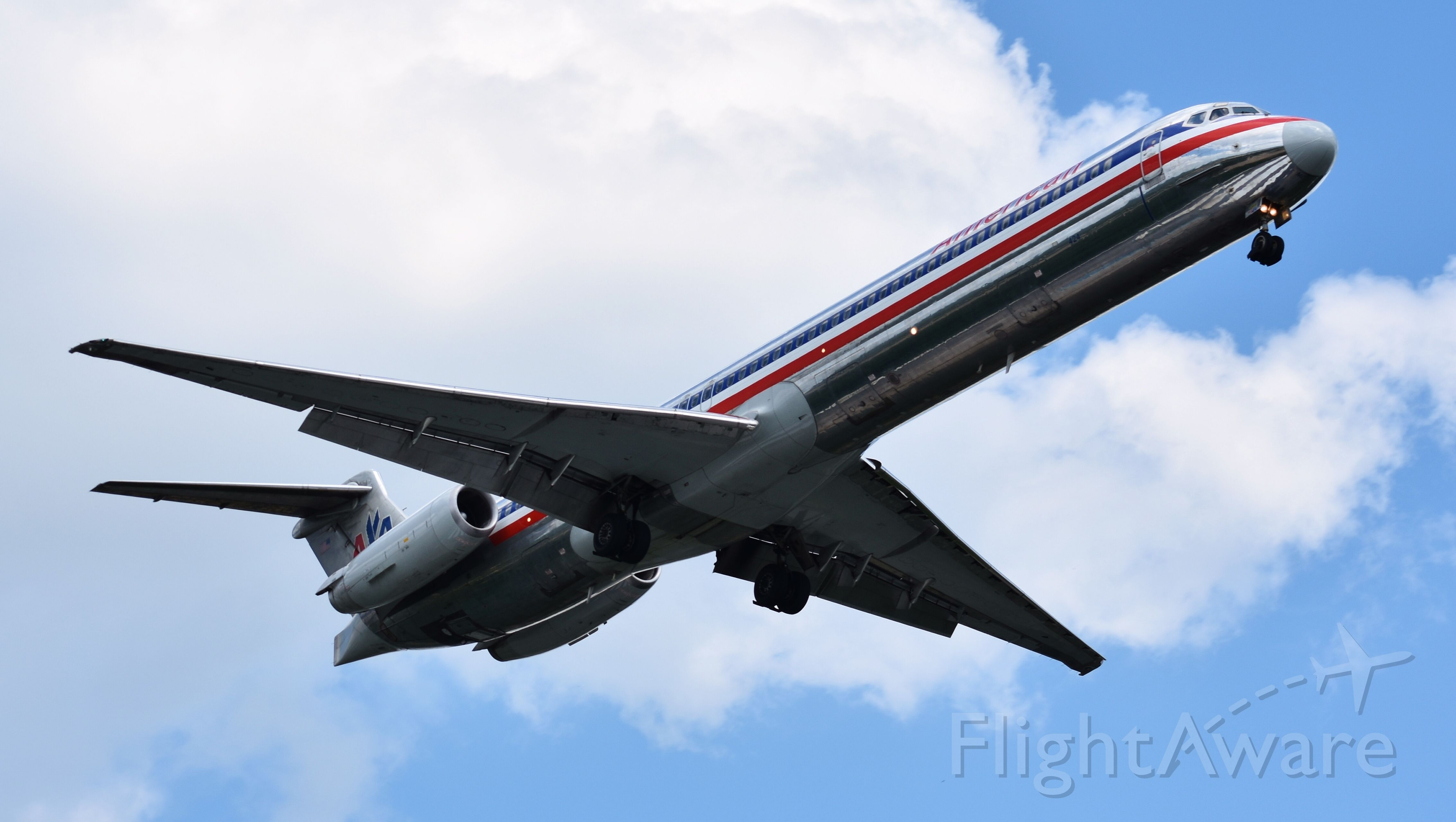 McDonnell Douglas MD-82 (N424AA) - One of the oldest Mad Dogs left in American