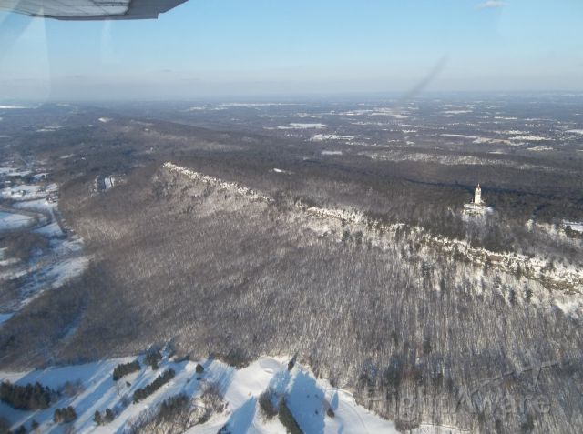 Cessna Skyhawk (N63835) - Flying over Torington, CT.