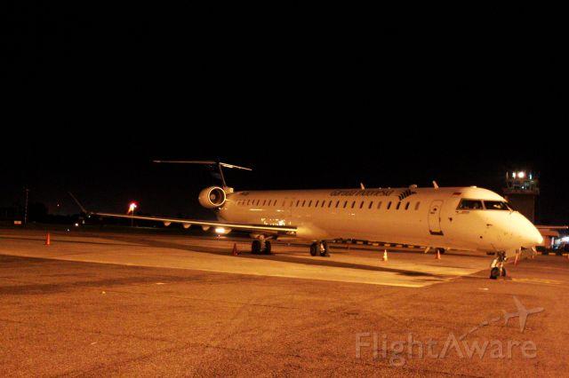Canadair Regional Jet CRJ-100 (PK-GRH) - CRJ-1000 PK-GRH operated by Garuda Indonesia. Remaining Over Night at Polonia Medan Airport