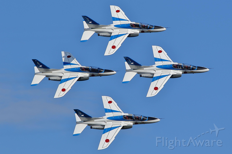 KAWASAKI T-4 — - JASDF-Iruma air showbr /Blue Impulse