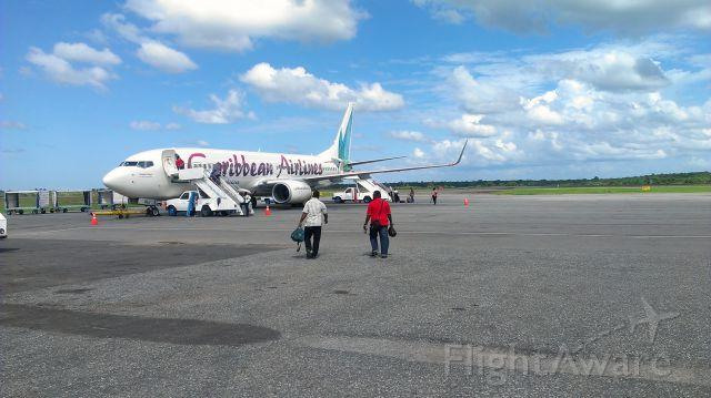 Boeing 737-700 — - Boarding CAL