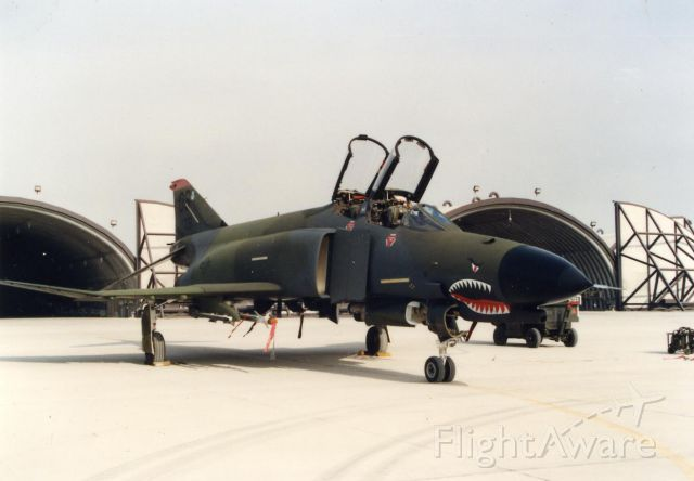 — — - F4E tail #9351 Osan ab ROK 1984  Just had the new NATO paint done.  Photo by John Chiappini