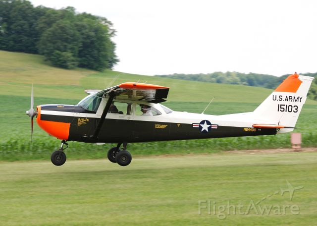 N64408 — - Four men and a Cessna out for a Sunday fly.