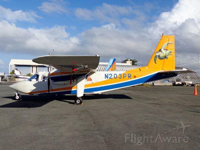 ROMAERO Islander (N203PR)
