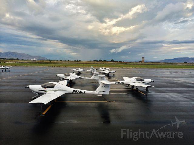 Diamond DA-20 — - Utah Valley University Flight Training Facility