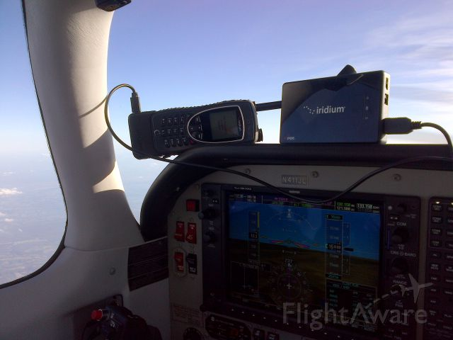 Mooney M-20 Turbo (N411JL) - WIFI HOT SPOT:  EMAIL AT 16,000 FEET!
