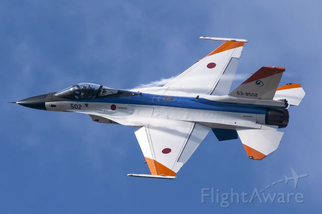 Mitsubishi F-2 (63-8502) - Gifu Airbase Festival Nov.23 2014