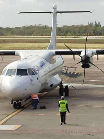 ATR ATR-72 (ZS-XZA) - Llegada vuelo CU874