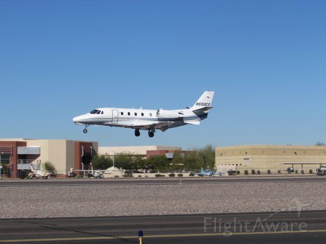 Cessna Citation V (N550CS)