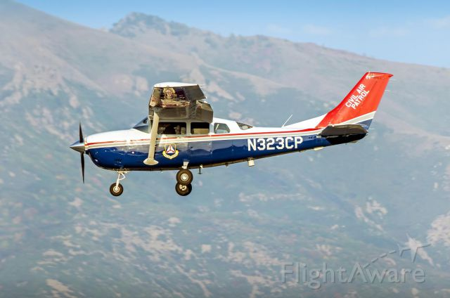 Cessna 206 Stationair (N323CP) - Love the colors on the CAP planes.