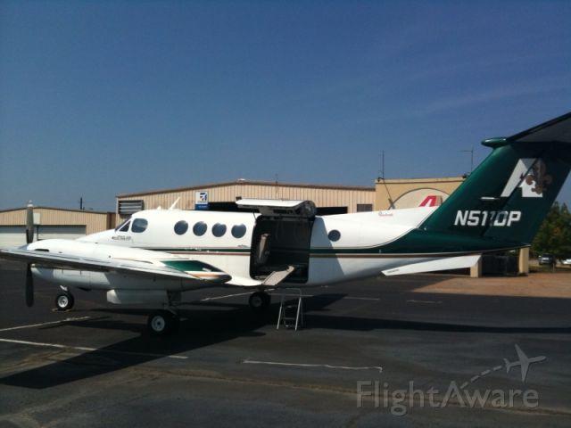 Beechcraft Super King Air 200 (N511DP) - Medical flight for Arkansas Children