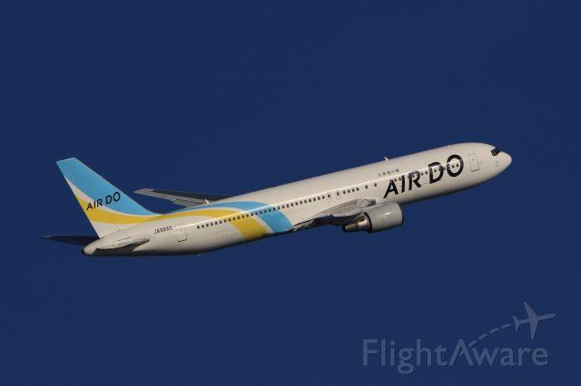 BOEING 767-300 (JA98AD) - April 21st 2019:HKD-HND.