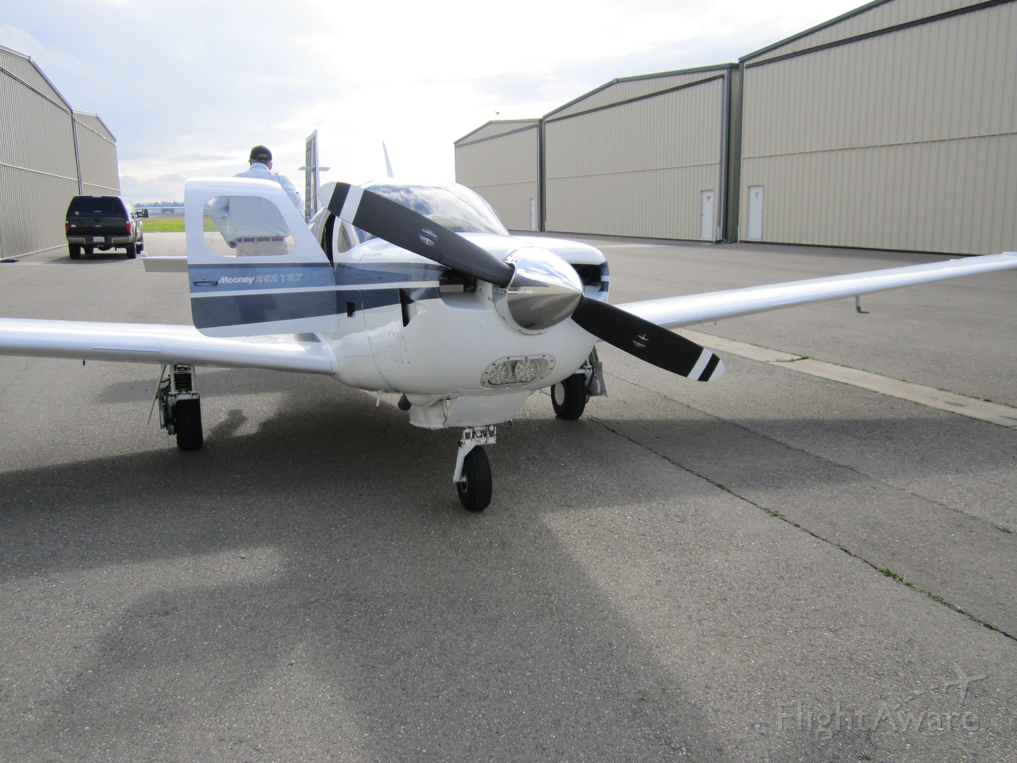 Mooney M-20 (N252YY) - LINCOLN AIRPORT, CA, USA    01.26.2013
