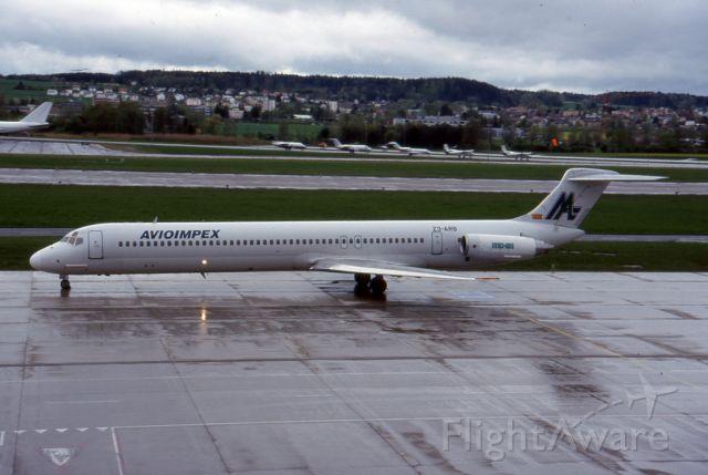 McDonnell Douglas MD-81 (Z3-ARB)