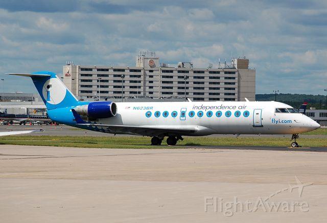 Canadair Regional Jet CRJ-200 (N623BR) - Old Indy bird