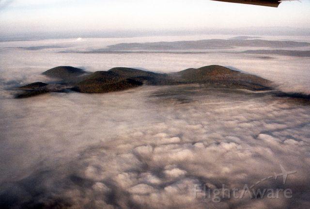 — — - Breaking through the fog