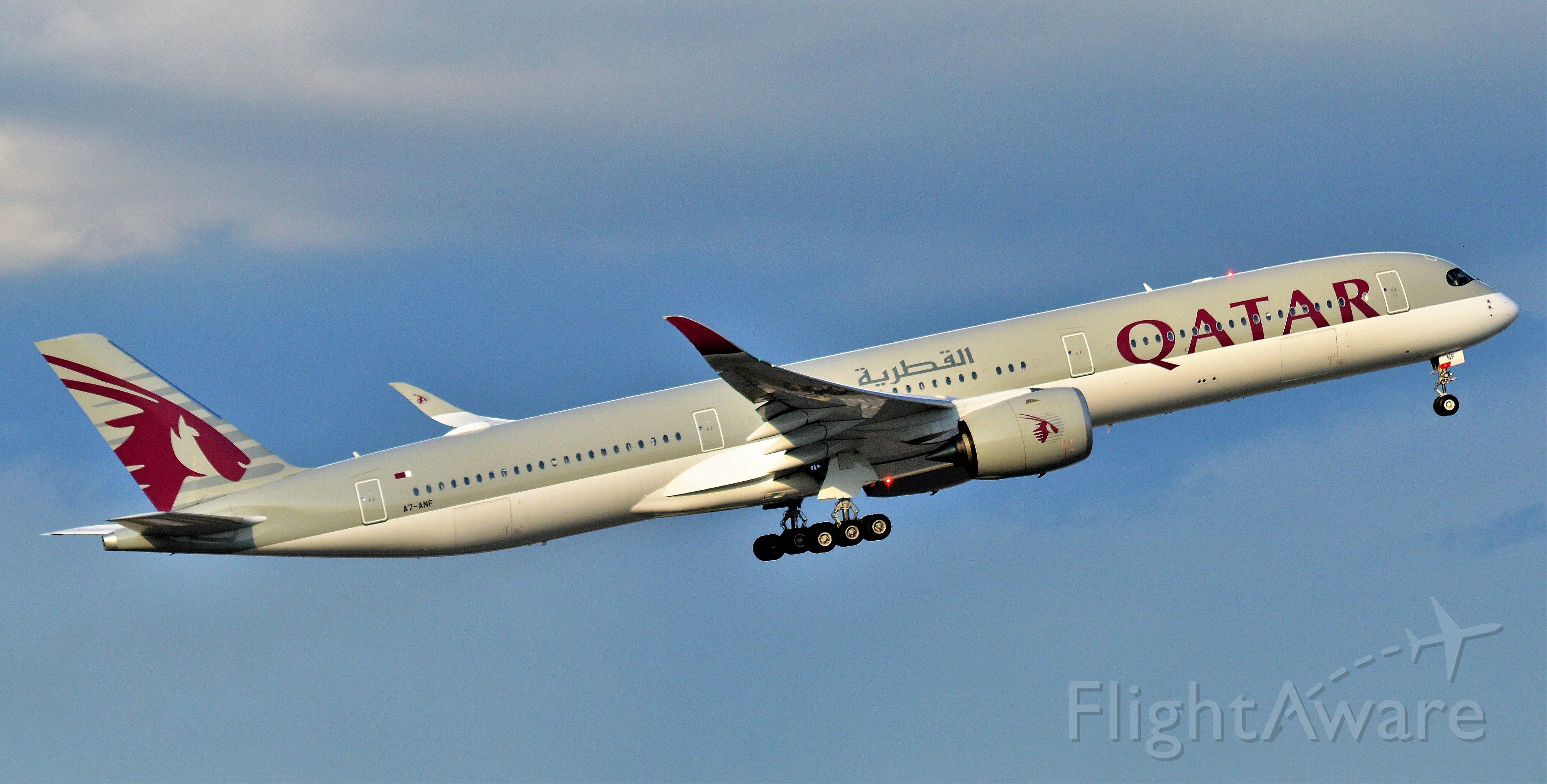 Airbus A350-900 (A7-ANF)