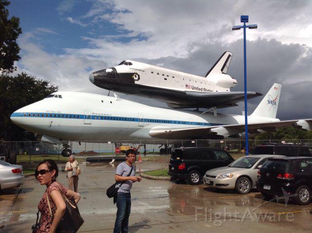 — — - NASA Visitors Center, Houston, Texas