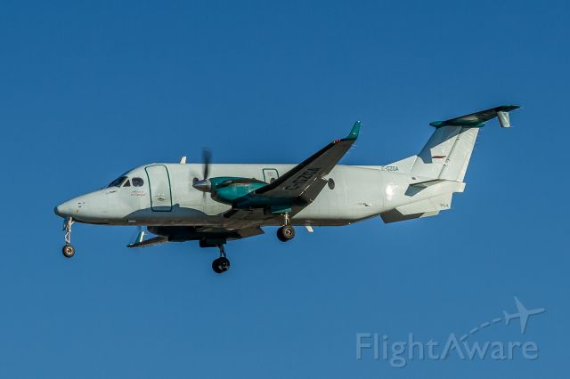 Beechcraft 1900 (C-GZGA) - Maple leaf and titles removed, soon to leave the fleet methinks!