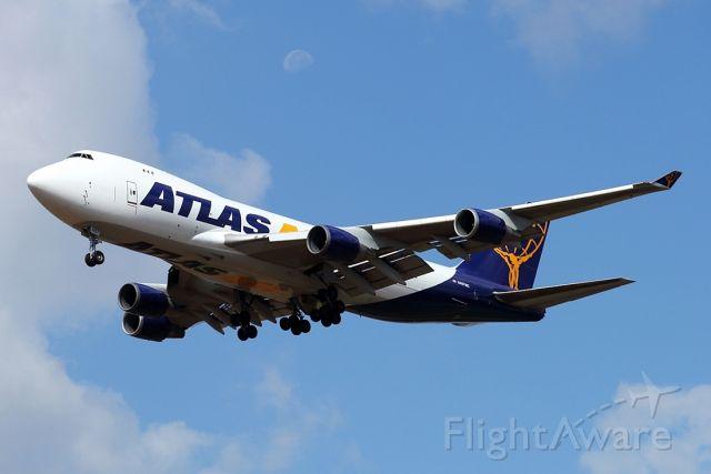Boeing 747-400 (N487MC) - 09/08/2020:  cargo flight landing from Liege (LGG), duration was 03h43m.
