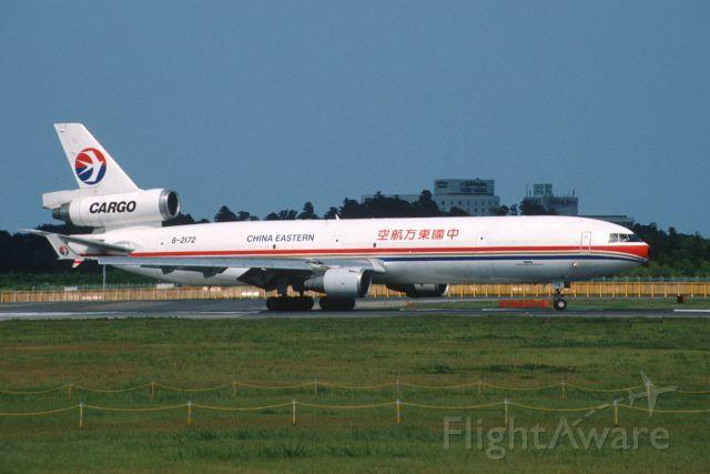 Boeing MD-11 (B-2172) - Departure at Narita Intl Airport Rwy16R on 2004/08/10